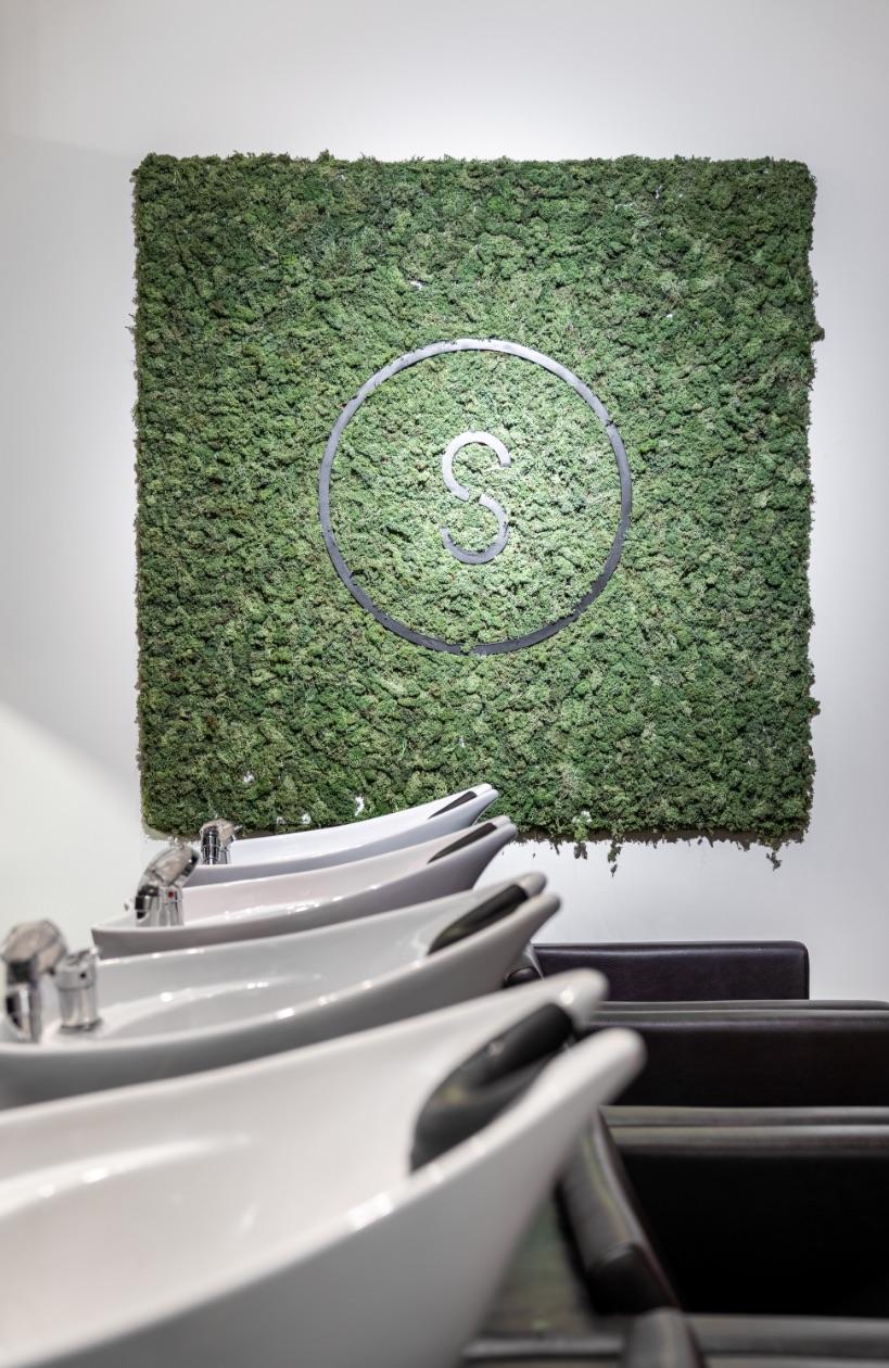 Bar à shampoing | Expérience en salon | Espace de travail